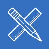 design engineering white icon